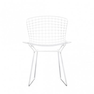 Wire Side Chair Dinner Chair by Harry Bertoia for Knoll