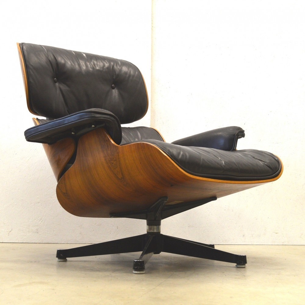lounge chair by charles and ray eames for fehlbaum 41861. Black Bedroom Furniture Sets. Home Design Ideas