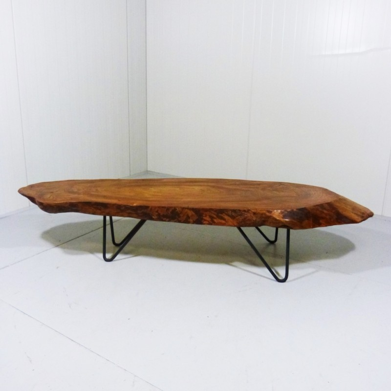 Tree Trunk coffee table, 1960s