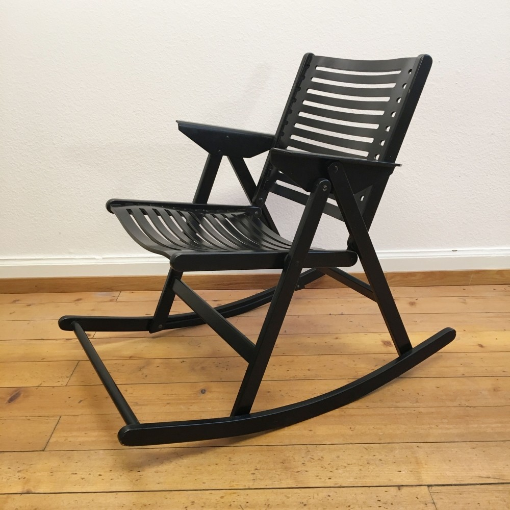 Rex Rocking Chair By Niko Kralj 1970s 42057