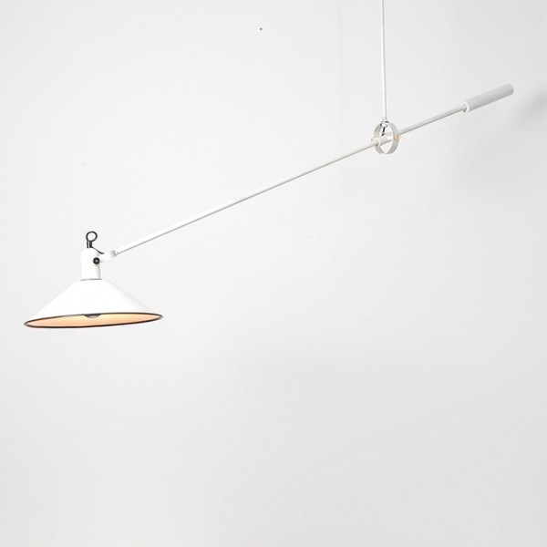 Counterbalance Hanging Lamp by J. Hoogervorst for Anvia Almelo