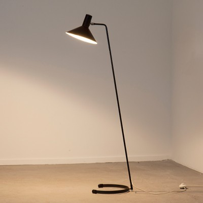 8025 Floor Lamp by J. Hoogervorst for Anvia Almelo