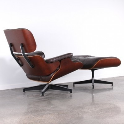 lounge chair by charles and ray eames for herman miller 42414. Black Bedroom Furniture Sets. Home Design Ideas