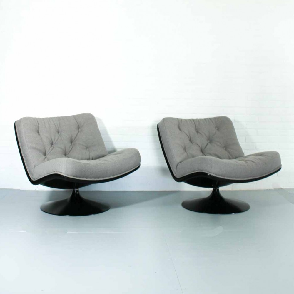 F976 Lounge Chair by Geoffrey Harcourt for Artifort