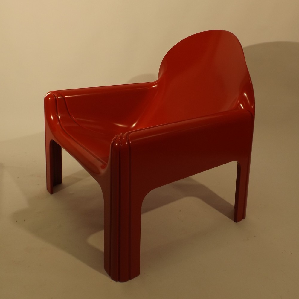 2 Model 4794 lounge chairs from the seventies by Gae Aulenti for Kartell