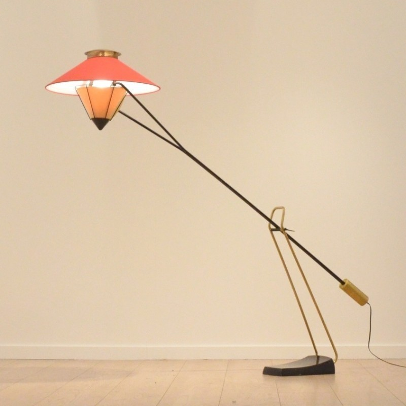 Floor Lamp by Pierre Guariche for Unknown Manufacturer