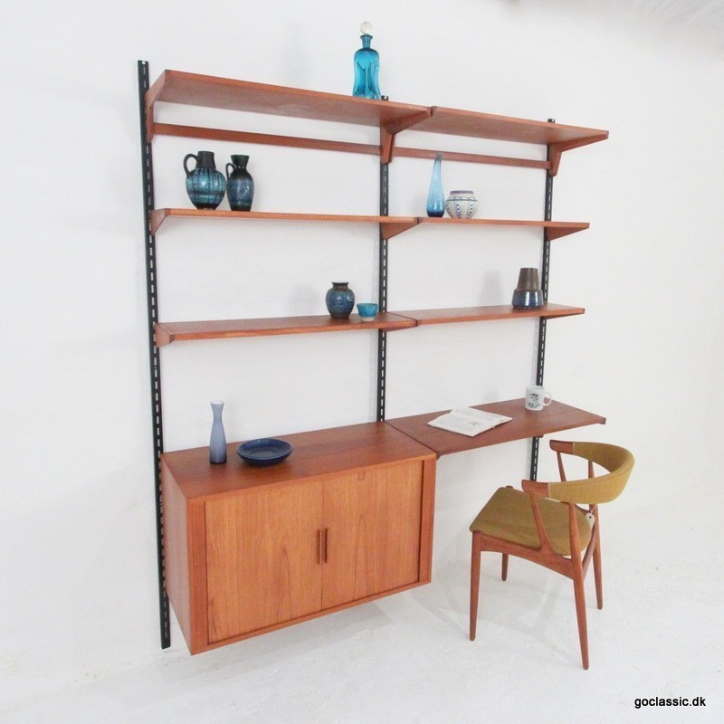 Wall Unit by Kai Kristiansen for Feldballes Møbelfabrik