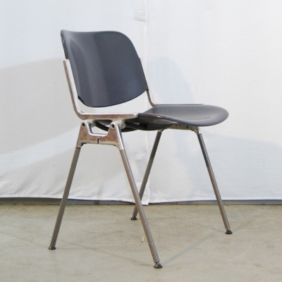 Type DSC Axis 106 Dinner Chair by Giancarlo Piretti for Castelli