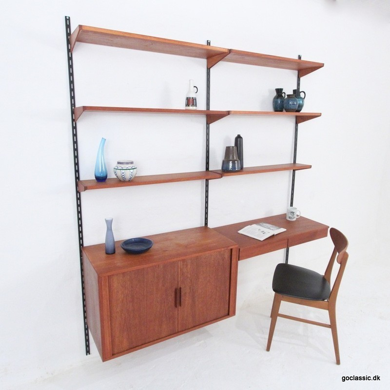 FM Wall Unit by Kai Kristiansen for Feldballes Møbelfabrik