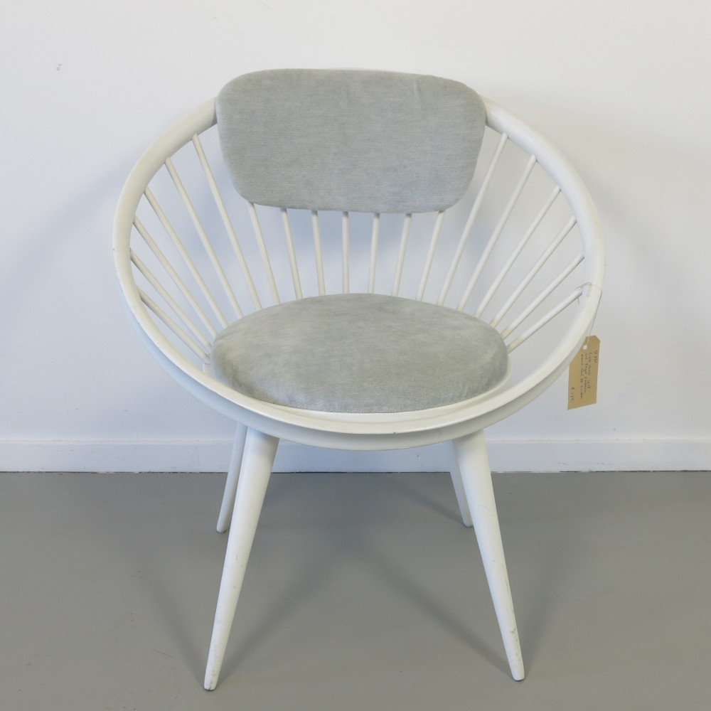 Circle Lounge Chair by Yngve Ekström for AB Sweden