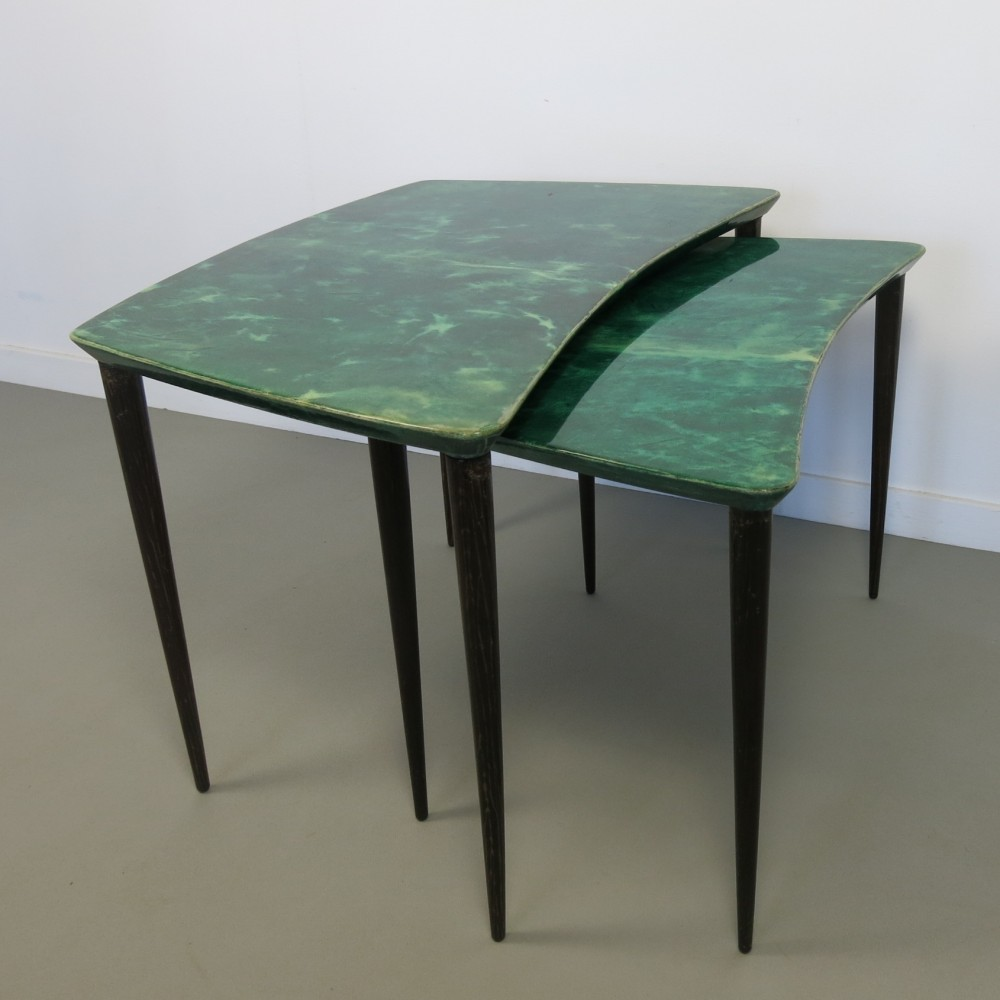 Nesting Table by Aldo Tura for Unknown Manufacturer