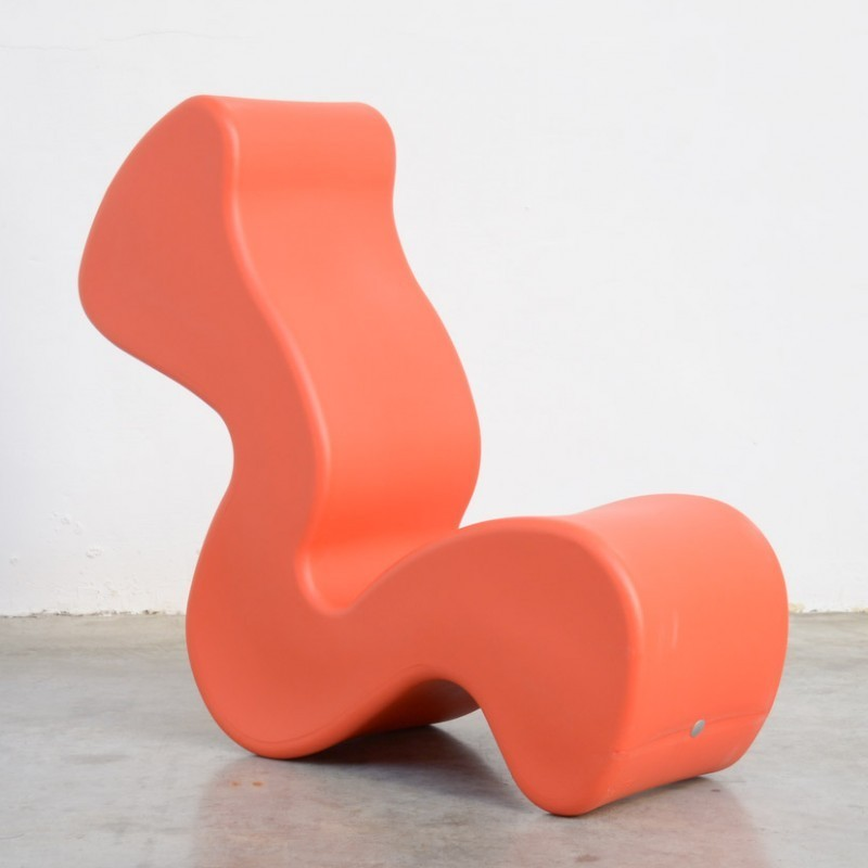 Phantom Lounge Chair By Verner Panton For Innovation Randers 1990s