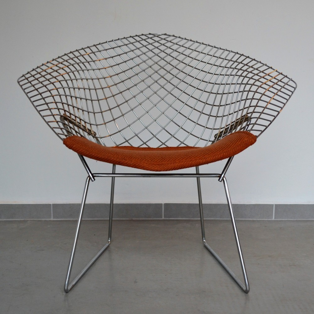 Diamond Lounge Chair by Harry Bertoia for Knoll International