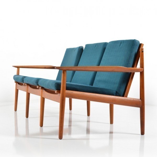 Sofa By Grete Jalk For Glostrup 1950s