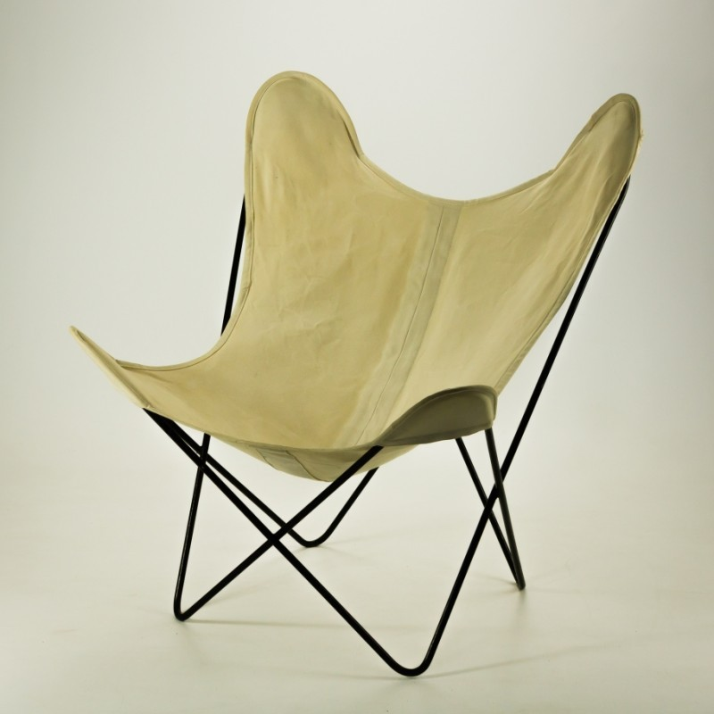 Butterfly Lounge Chair By Jorge Ferrari Hardoy For Knoll, 1950s