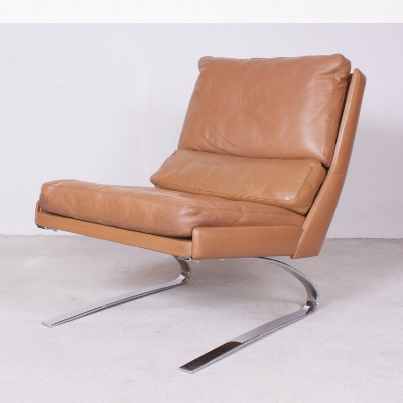 2 X Swing Lounge Chair By Reinhold Adolf U0026 Hans Jürgen Schröpfer For COR  Sitzcomfort, 1960s