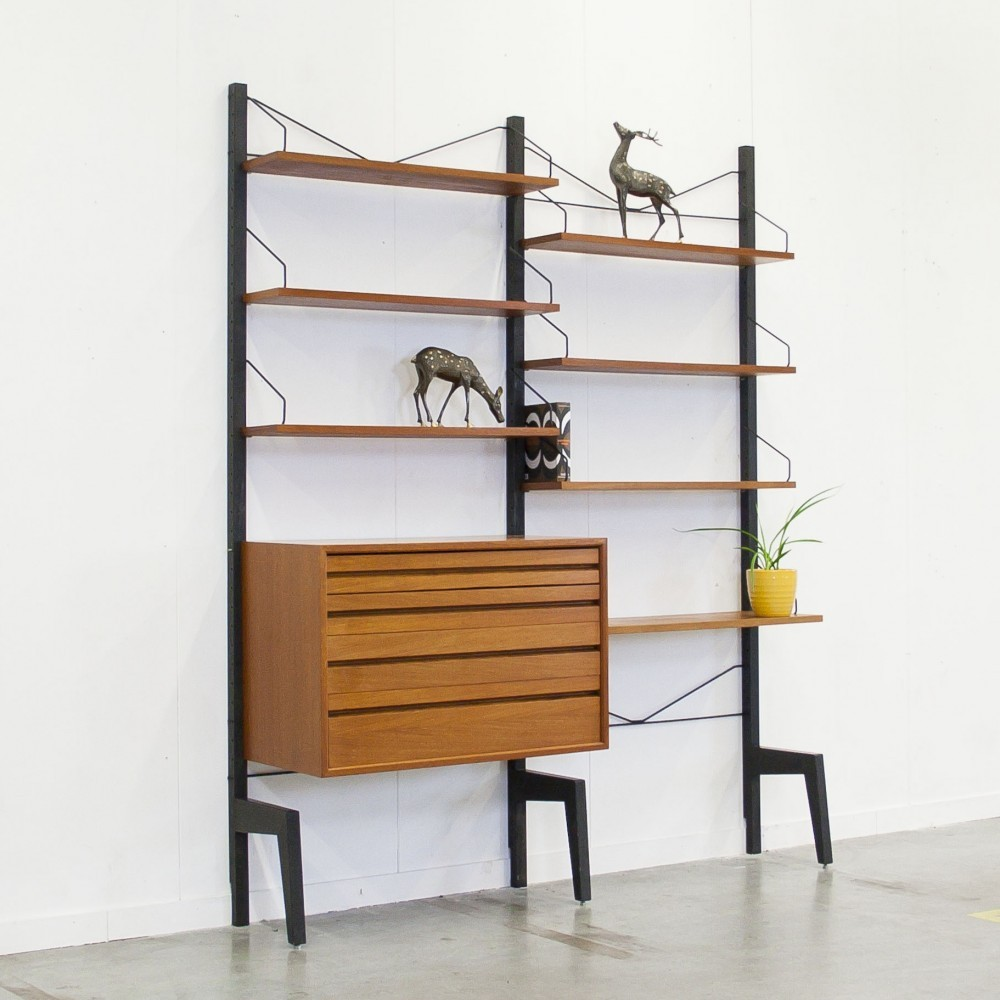 Wall Unit by Poul Cadovius for Royal System