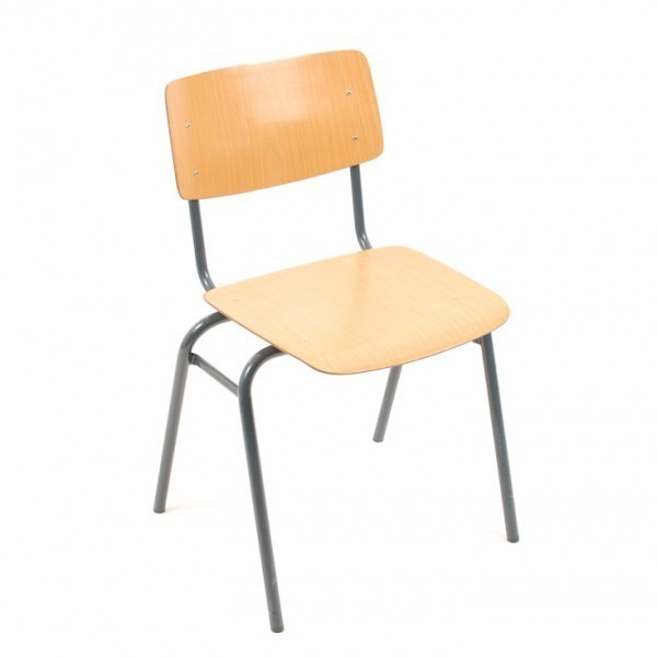 50 X Kwartet School Chair Dinner Chair By Marko Holland, 1950s