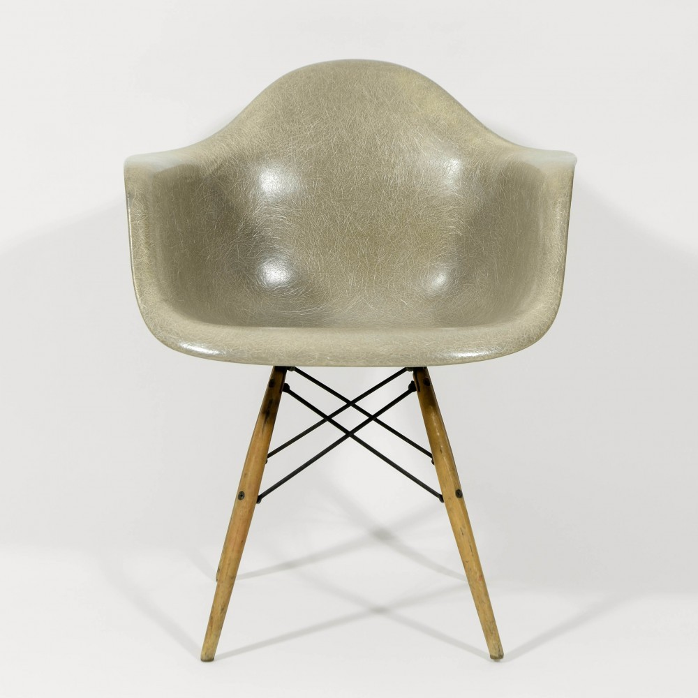 Zenith Rope Edge DAW Arm Chair by Charles and Ray Eames for Zenith Plastics