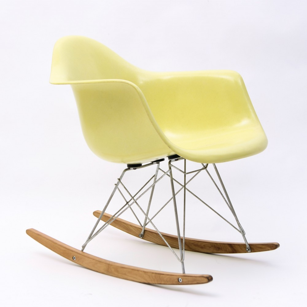 RAR Baby Rocker Rocking Chair by Charles and Ray Eames for Herman Miller