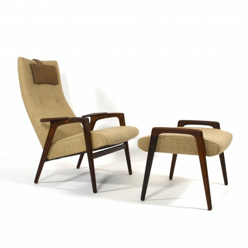 Ruster Lounge Chair by Yngve Ekström for Pastoe