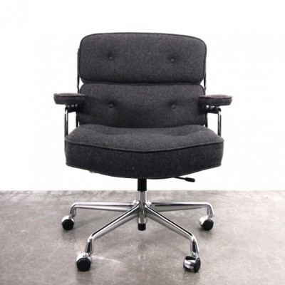 Time Life Lobby Office Chair by Charles and Ray Eames for Vitra