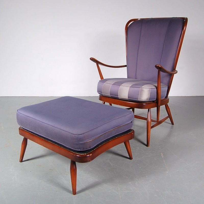 Lounge chair by Lucian Randolph Ercolani for Ercol, 1950s