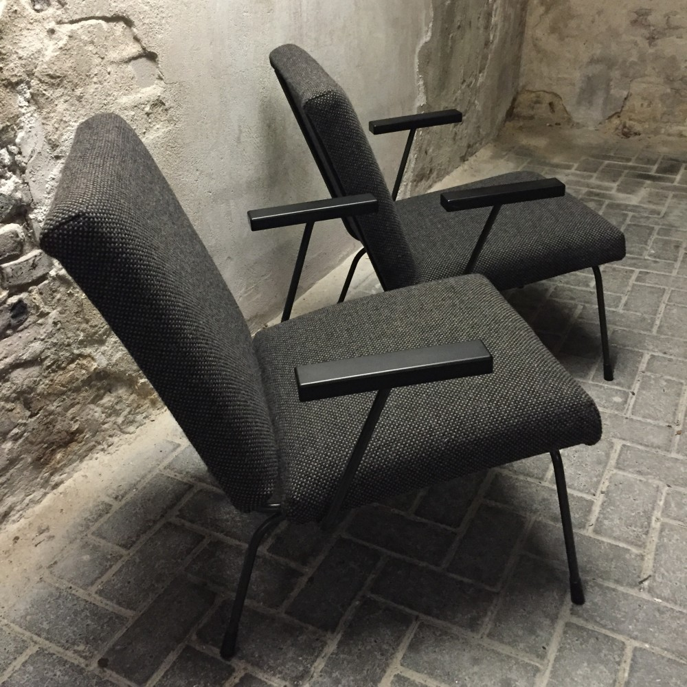 415/1407 Lounge Chair by Wim Rietveld and André Cordemeyer for Gispen