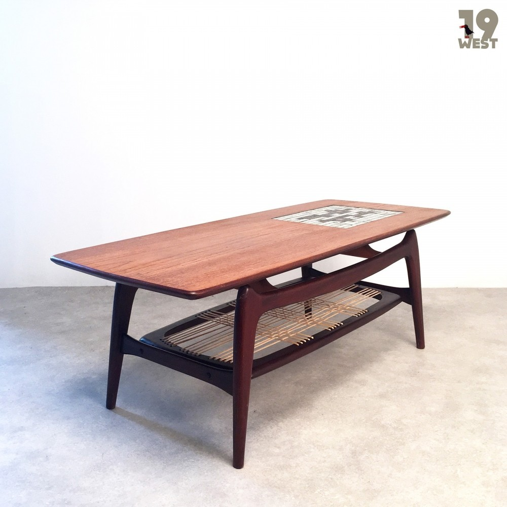 Coffee Table from the fifties by Louis van Teeffelen & Jaap Ravelli for Wébé
