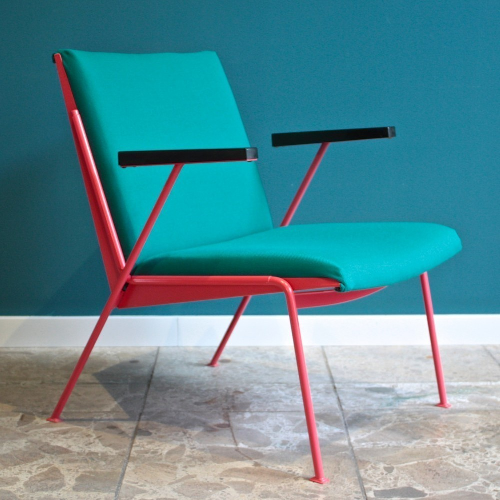 Oase Arm Chair by Wim Rietveld for Ahrend de Cirkel