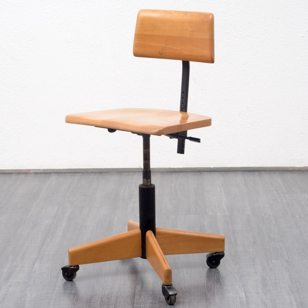 Designer office chair - Office Chair From The Fifties By Unknown Designer For Stoll Giroflex