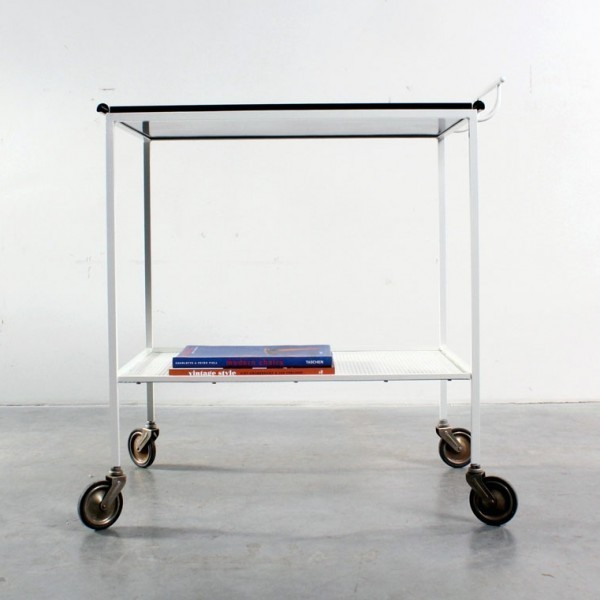 Biarritz Serving Trolley by Mathieu Mategot for Artimeta