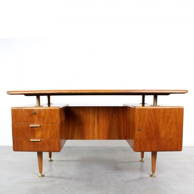 Poly-Z Writing Desk from the fifties by A. Patijn for Zijlstra Joure