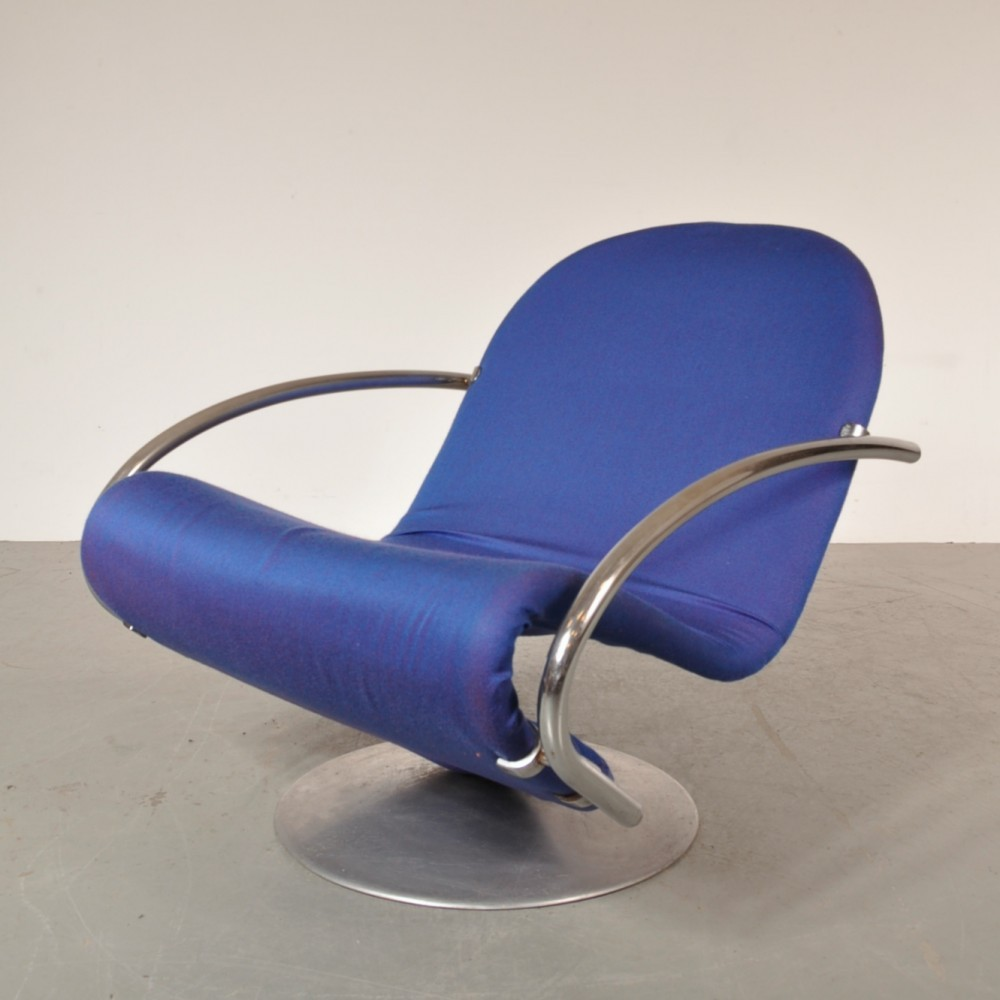 Lounge Chair By Verner Panton For Fritz Hansen, 1960s