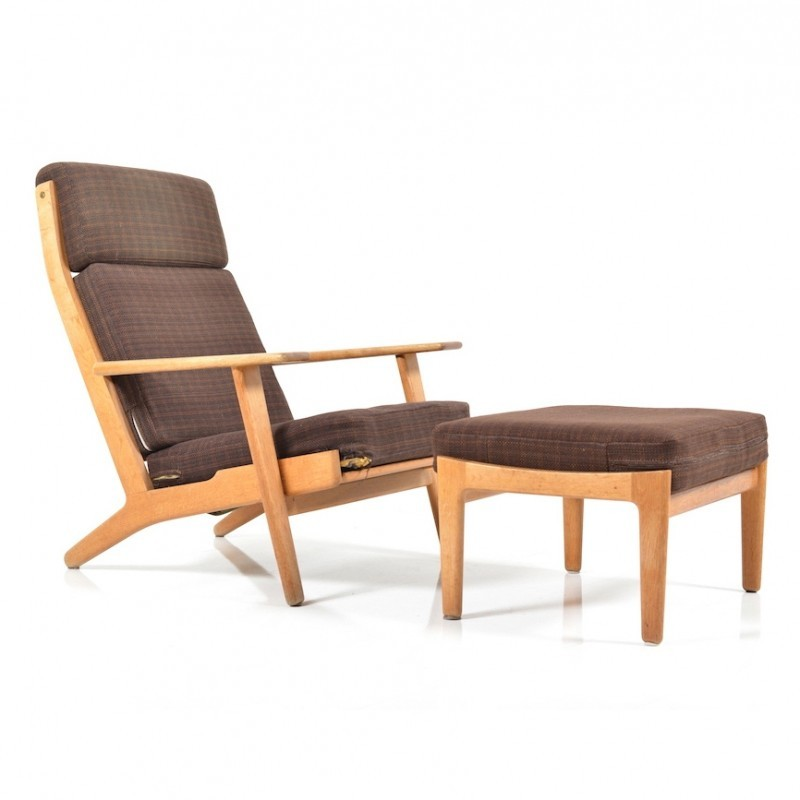 GE-290/H Lounge Chair by Hans Wegner for Getama