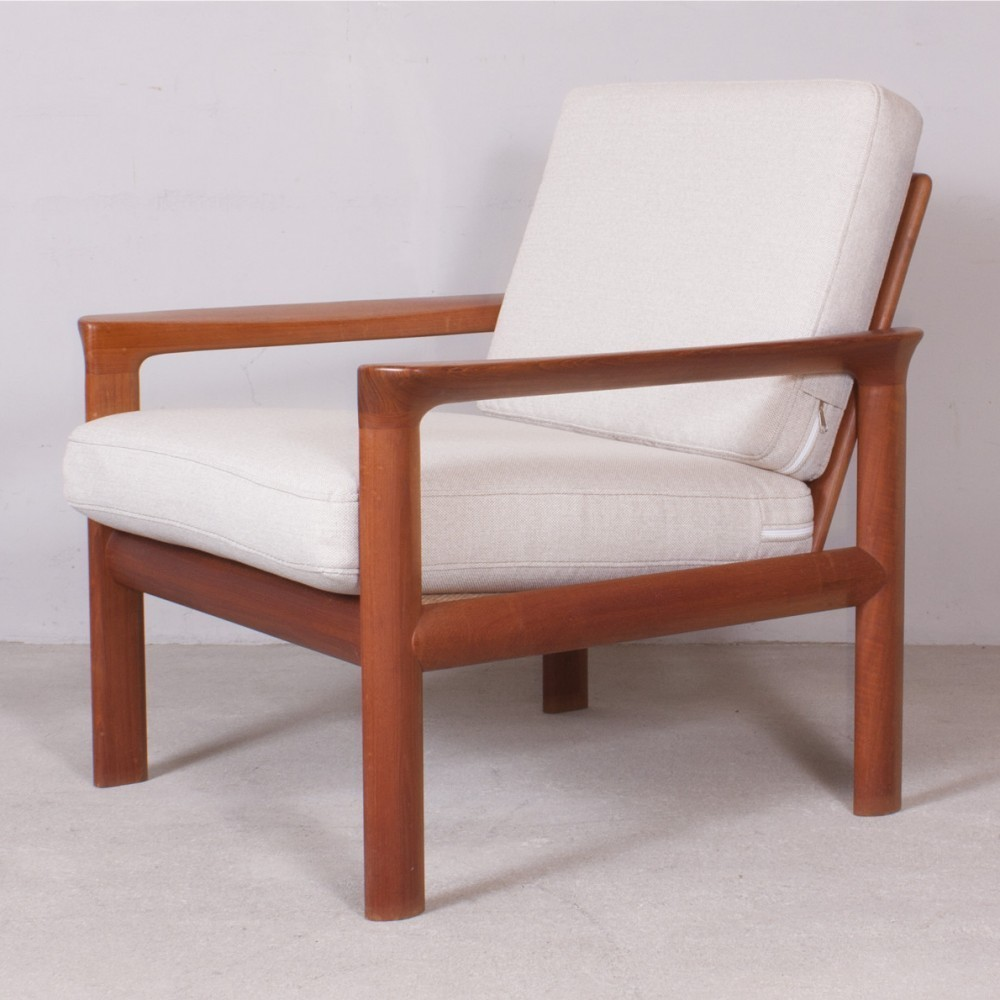 Admirable Borneo Lounge Chair By Sven Ellekaer For Komfort 1960S 47253 Bralicious Painted Fabric Chair Ideas Braliciousco