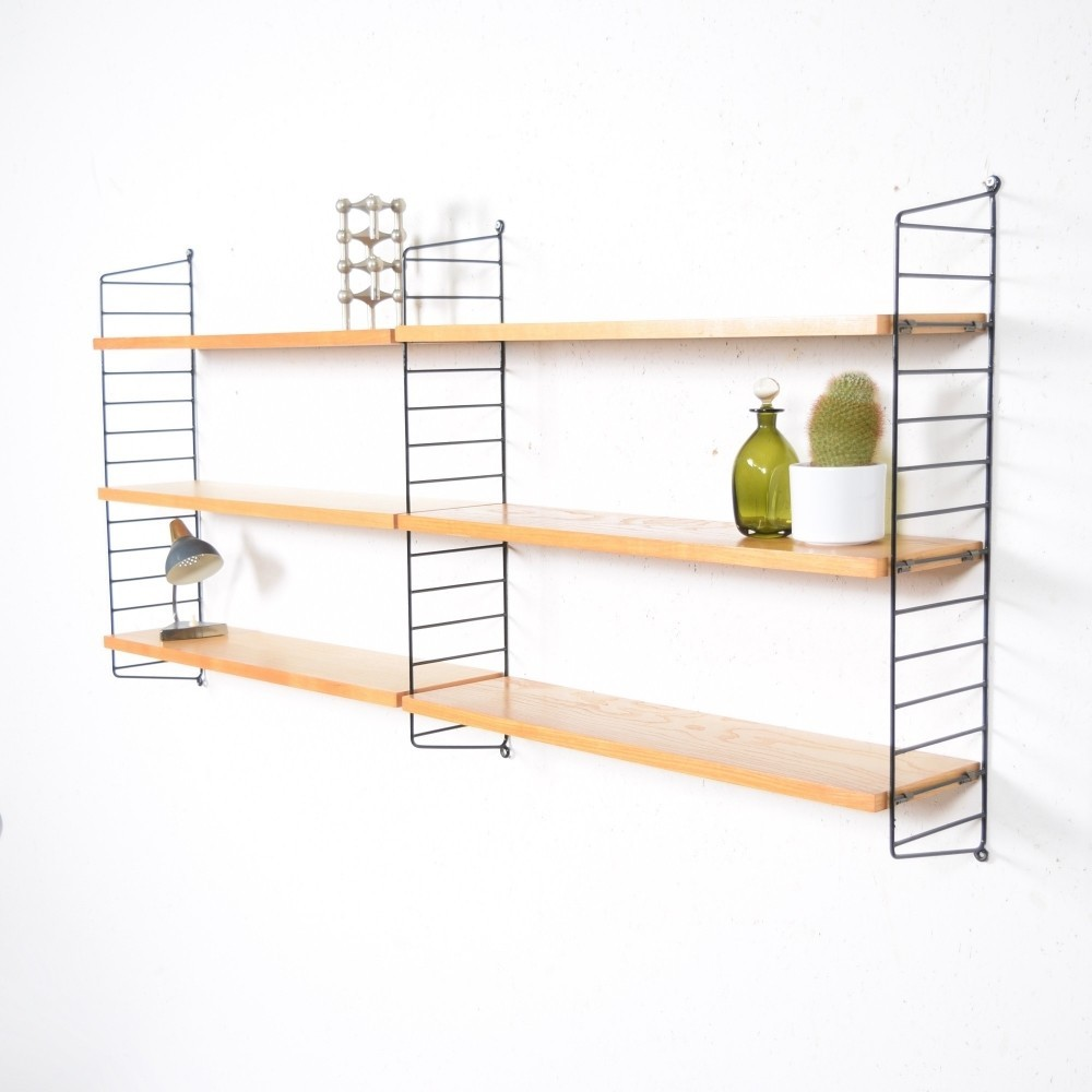 Regal Wall Unit by Kajsa Strinning and Nils Strinning for String Design AB