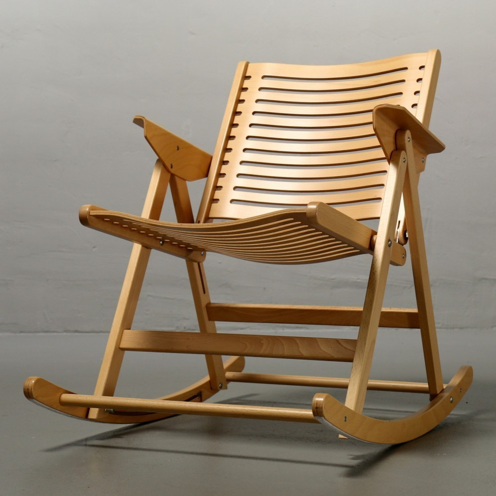 Declaración convertible preocupación  Rex rocking chair by Niko Kralj for Stol, 1950s | #47754