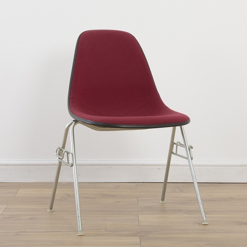 Side Chair on DSS or DSW Base Dinner Chair by Charles and Ray Eames for Herman Miller
