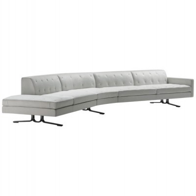 Kennedee Sofa By Jean Marie Maud For Poltrona Frau 1990s