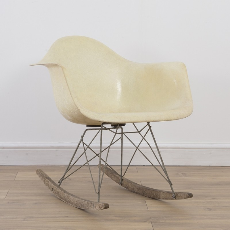 1st Generation RAR Rocking Chair by Charles and Ray Eames for Zenith Plastics