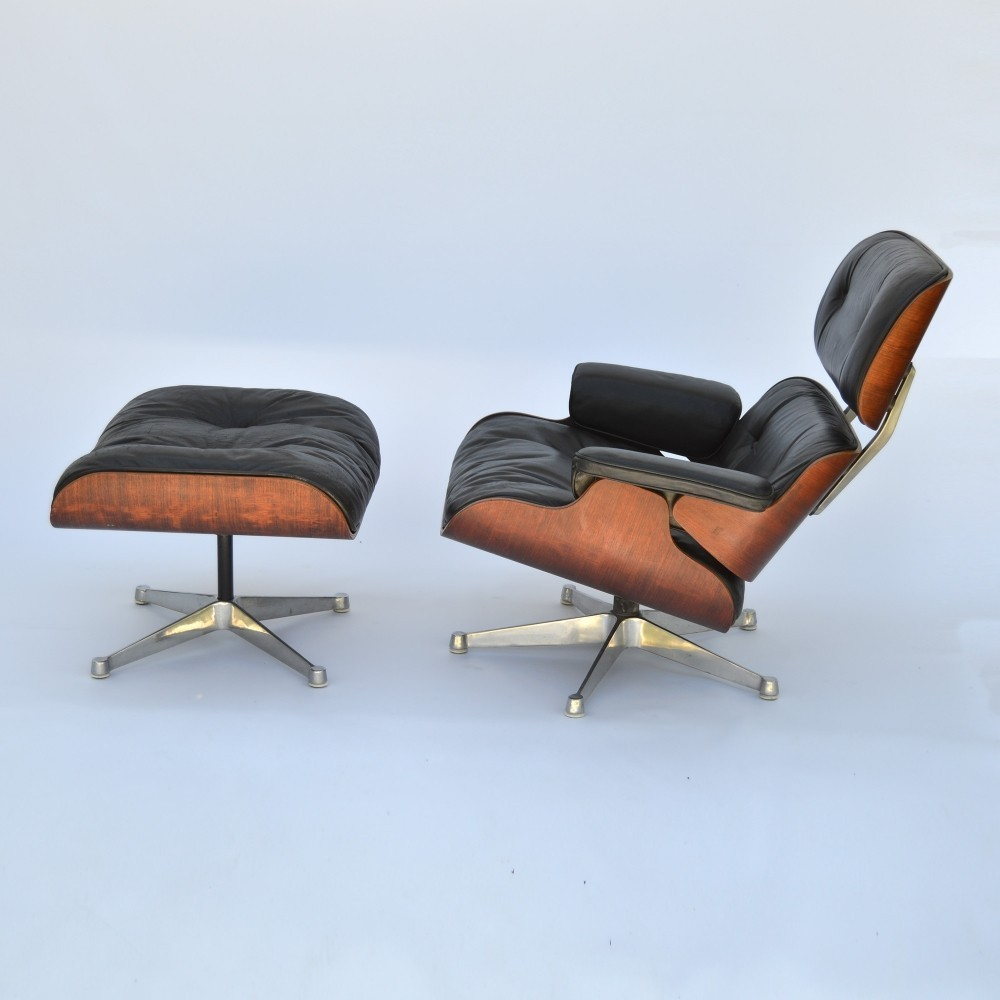 Lounge Chair by Charles and Ray Eames for ICF Italy