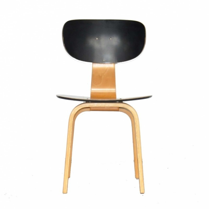 SB02 Dinner Chair by Cees Braakman for Pastoe