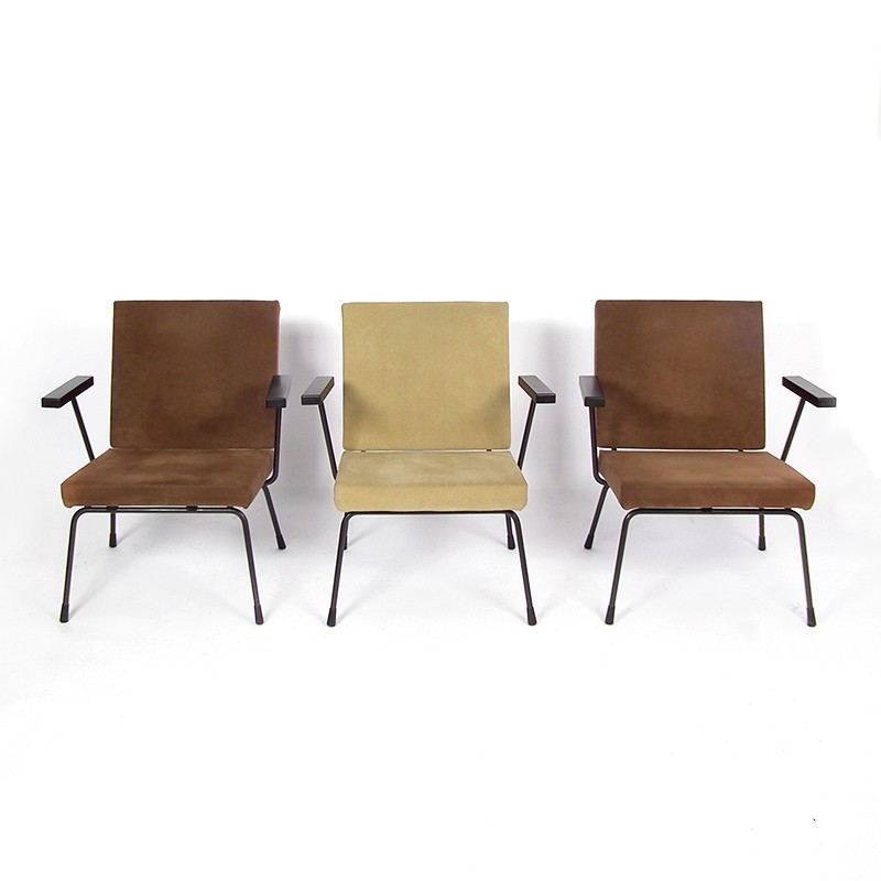 Model 415/1401 Lounge Chair by Wim Rietveld for Gispen
