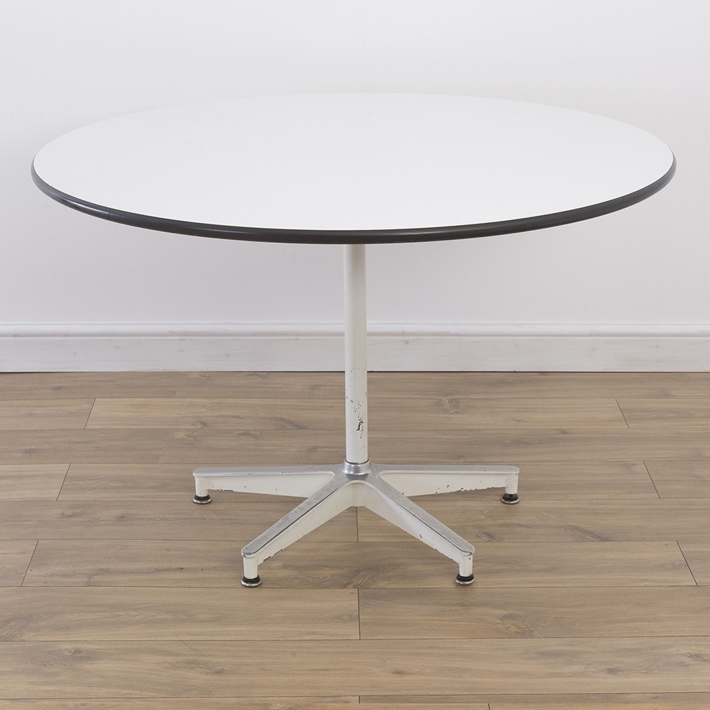 Rare 5 Star Base Contract Dining Table By Charles Ray Eames For Herman Miller 1960s