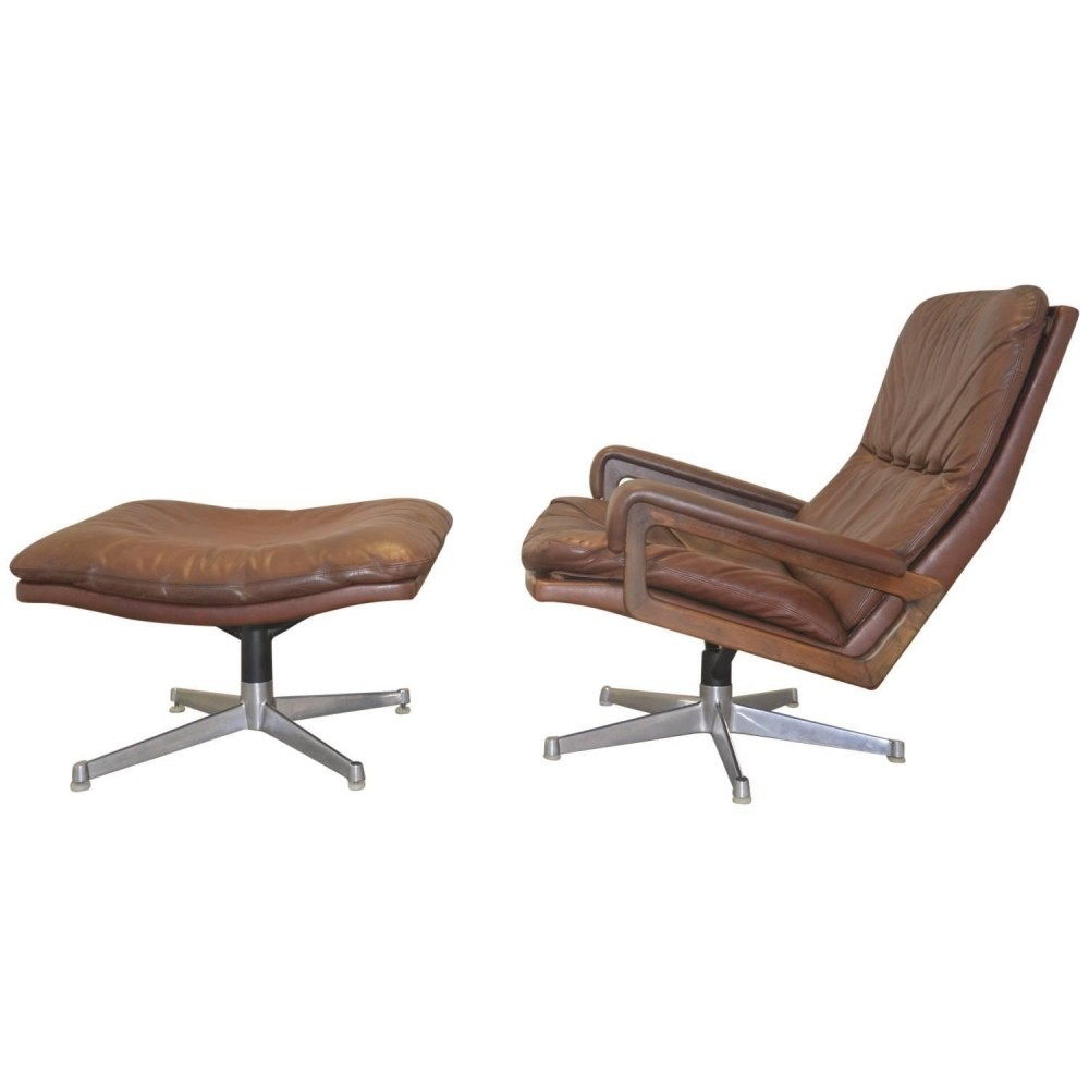 King Arm Chair from the sixties by André Vandenbeuck for Strässle
