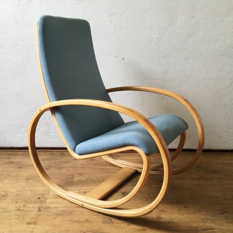 Rocking Chair by Jørgen Gammelgaard for Jørgensens Møbelfabrik