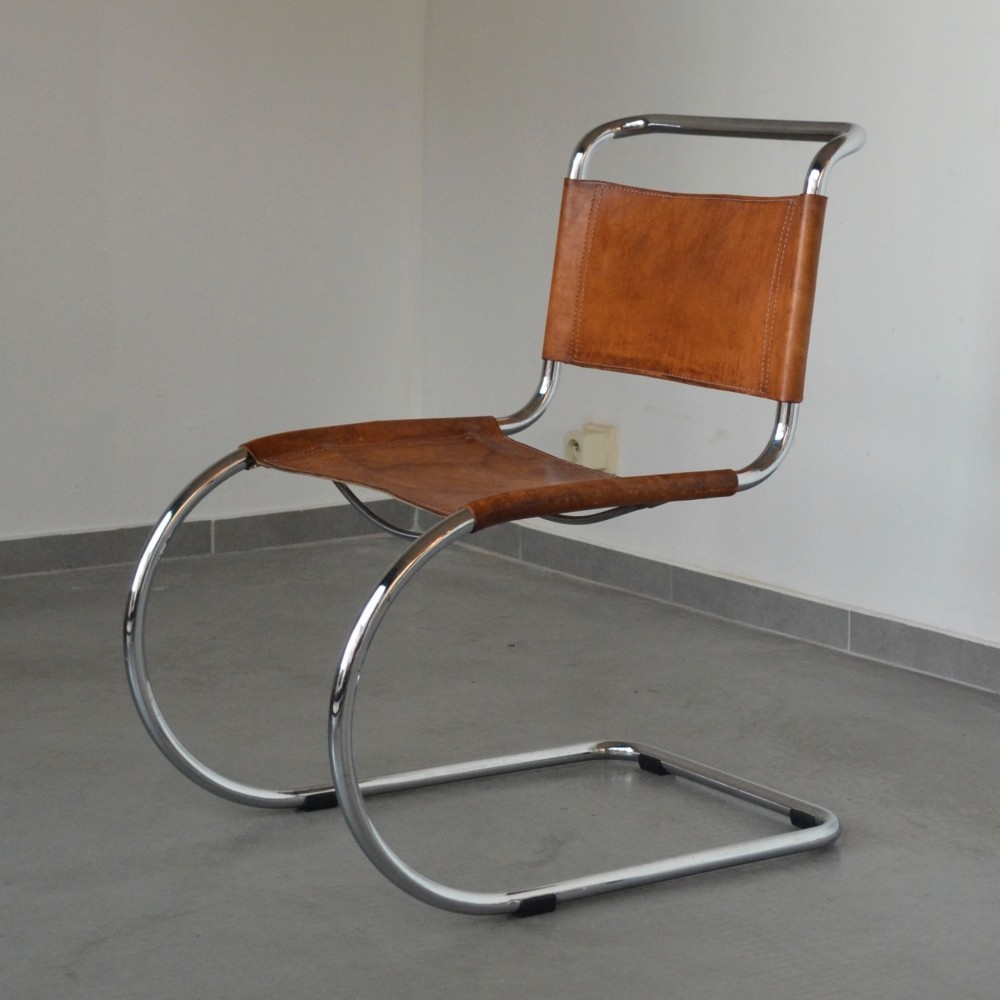 dinner chairs from the sixties by ludwig mies van der rohe for thonet