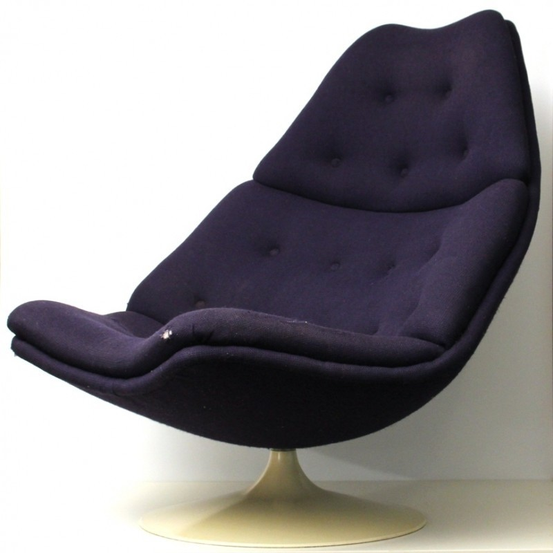 F587 Lounge Chair by Geoffrey Harcourt for Artifort