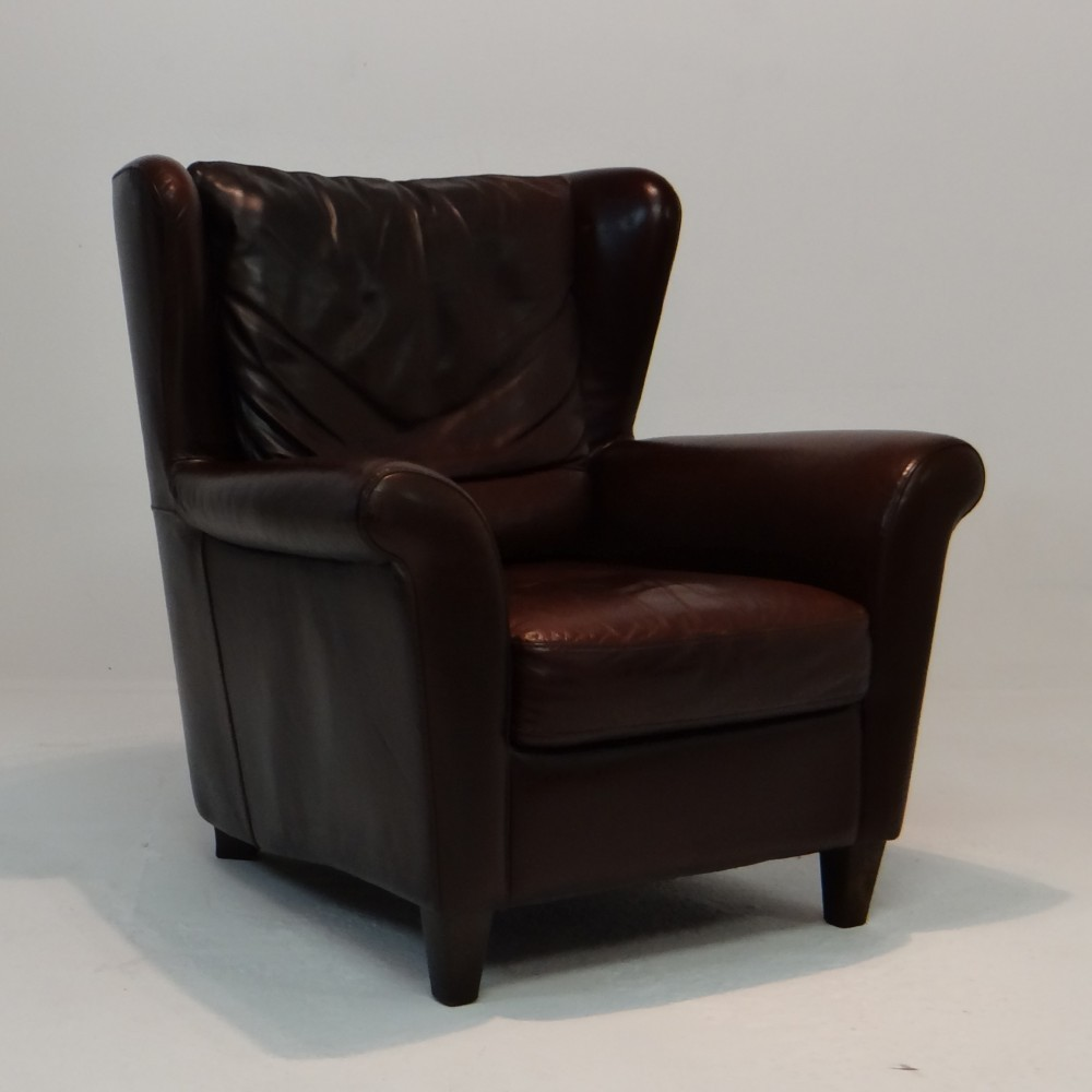 Wing Lounge Chair by Unknown Designer for Unknown Manufacturer